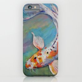 Heisei Nishiki Koi iPhone Case