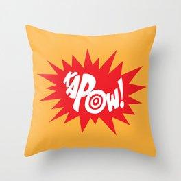 KAPOW! Throw Pillow