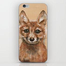 Nursery Art / Decor - Woodland bay fox iPhone Skin