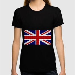 Union Jack Flag Jigsaw T-shirt