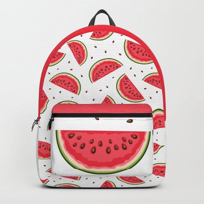 Backpack bag PRINT Watermelons watermelon Watermelon