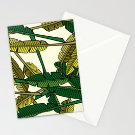 Botany: Banana Leaves Stationery Cards
