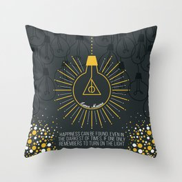 Lumos Maxima Throw Pillow