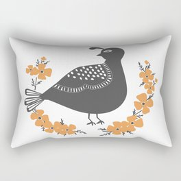 Quail Rectangular Pillow
