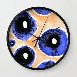 Poppy Eyed Wall Clock