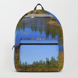 Shingleton, Upper Peninsular, Michigan. Backpack