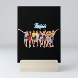 Twice dance the night away Mini Art Print