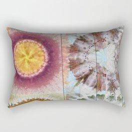 Tacheometry Natural Flower  ID:16165-065451-00761 Rectangular Pillow