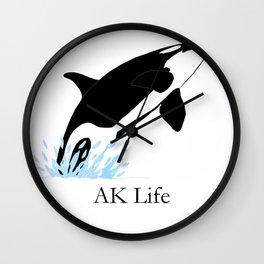 AK Life Orca Wall Clock