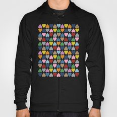 Diamond Hearts Repeat Hoody