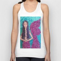 fitzgerald Tank Tops featuring Cordelia Fitzgerald the Mermaid by inara77