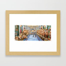 Big Trouble in Little China - All in the Reflexes Framed Art Print