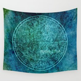 Zodiac Star Map Wall Tapestry