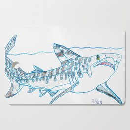Tiger Shark II Cutting Board