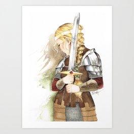 Eowyn Art Print