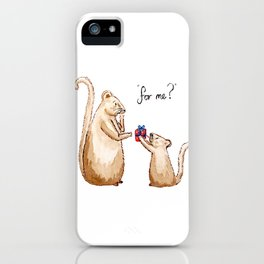 For Me? iPhone Case