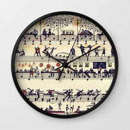 people dance Wall Clock