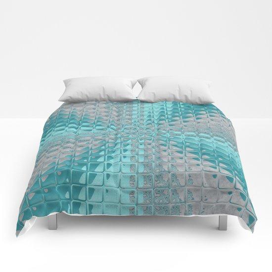 Aqua Reflections Comforters