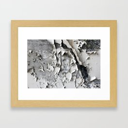 Cracked Paint 3 - CoOperative Framed Art Print