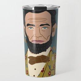 Abe Lincoln Travel Mug