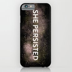 She Persisted - Gold Dust iPhone 6 Slim Case