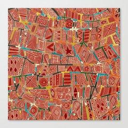 ESHE red Canvas Print