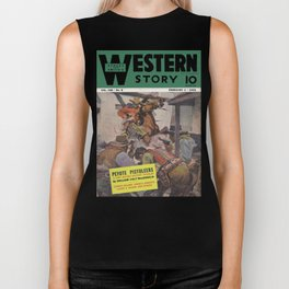 Street & Smith's Western Story - February 1941 Biker Tank