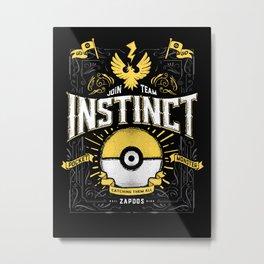 An Instinctual Decision Metal Print