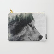 Wolf Stare Carry-All Pouch