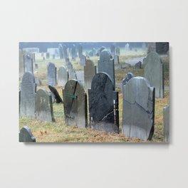 Historic Charter Street Burial Grounds  Metal Print