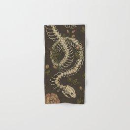 Snake Skeleton Hand & Bath Towel