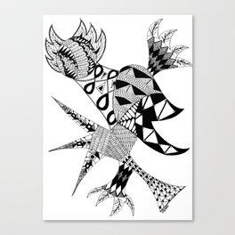 Tenacious Bird Canvas Print