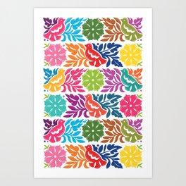 Chiapas Embroidery Art Print