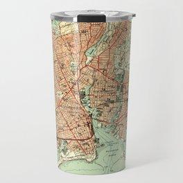 Vintage Map of Bridgeport Connecticut (1951) 2 Travel Mug