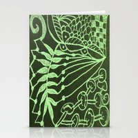 zentangle Stationery Cards featuring Zentangle by AM Prono