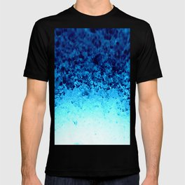 Blue Crystal Ombre T-shirt