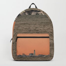 Bakers Island Light from Magnolia Backpack