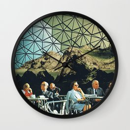 When we are older, vintage collage Wall Clock