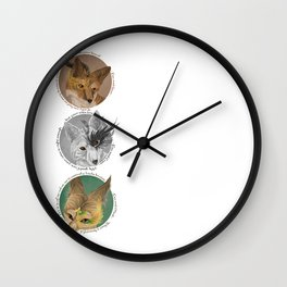 aesops  Wall Clock