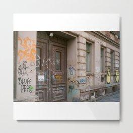 No Entry Metal Print