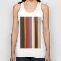 illusion Tank Tops featuring Illusion by AbstractArtPaintings