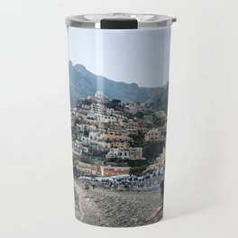 Positano Beach Travel Mug