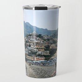 Positano Beach Travel Mug
