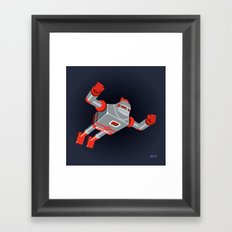 Jaianto Punch-Robo Framed Art Print