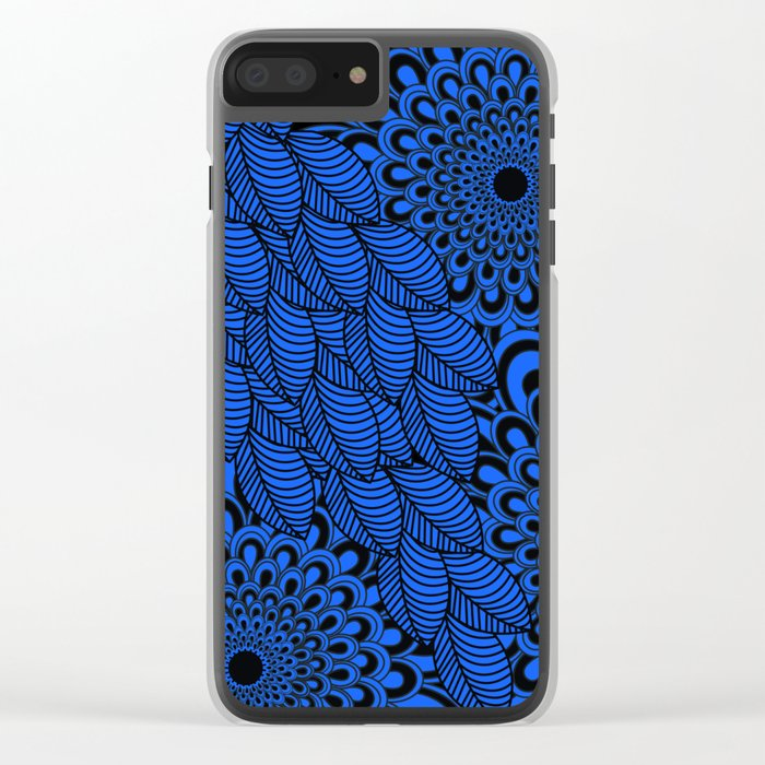 Pattern C 3 Clear iPhone Case