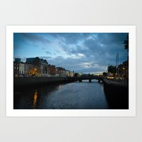 dublin Art Prints featuring Dublin by Ashley Hirst Photography
