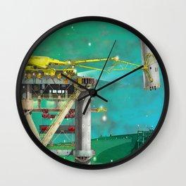 Loading Bay Wall Clock