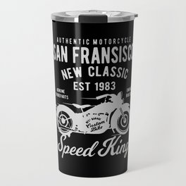authentic motorcycle Travel Mug