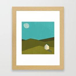 A House Framed Art Print