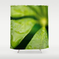 jamaica Shower Curtains featuring Jamaica Greenery by Heartland Photography By SJW